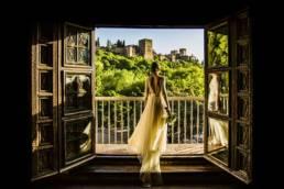 Fotografía creativa de boda