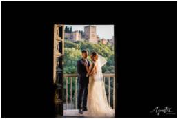 Boda en el Palacio de los Cordova - Fotografo Boda en Granada - Boda con vistas a la Alhambra