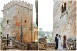 Elopement session in Granada - Wedding Photographer Granada