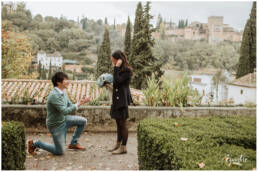 Proposal in Granada - Proposal Photoshoot - Wedding Photographer Granada